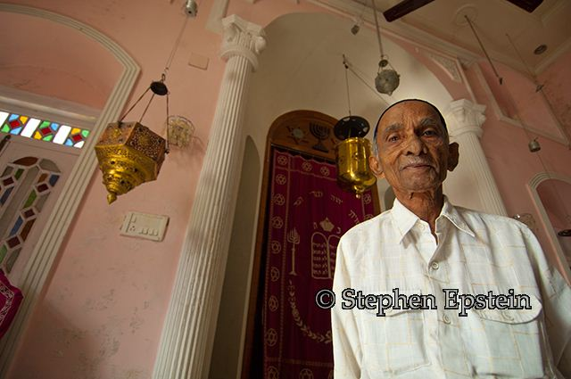 Bene Israel Chazzan of the synagogue in Alibag, India